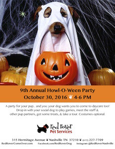 9th Annual Howl-O-Ween Party 2016